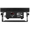 BBB612 Battery Bar 6x12W RGBWA-UV + W-DMX reciever