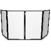 Event Facade (4 panelen) zwart frame+ 4 witte doekjes excl tas