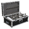 (er) Set 6x Eventspot 60Q7 batterypowered + flightcase