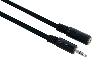 Kabel mini-jack mann->mini jack vr, 3m