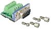 CDMX9M Soldeerloos kabeldeel DB9-male