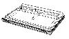 Easycase vr Pioneer XDJ-XZ + uitsparing Cranestand & verdeeldoos