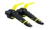 Toonkop 2 x MKII CLUB (Special Elliptical) - zwart/geel