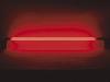 TL-lamp + ingebouwde ballast rood 1m65, 58W