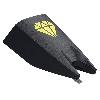 Vervangnaald MKII CLUB (Special Elliptical) - zwart/geel