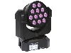 (er) EXPLIOII Moving head 12x3W RGBW CREE-leds